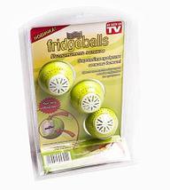 Набор поглотителей запахов для холодильника Fridge Balls [3 шт.], фото 3
