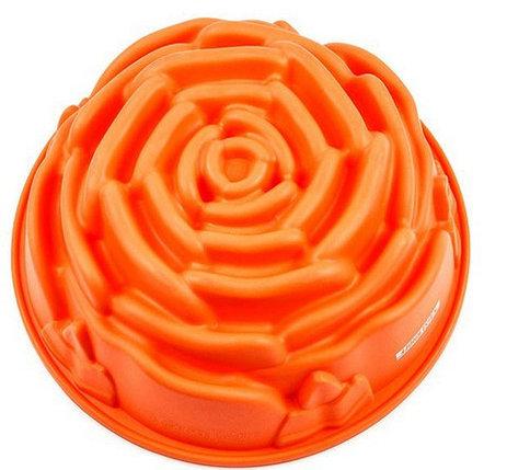 Силиконовая форма для выпекания Розочка, фото 2