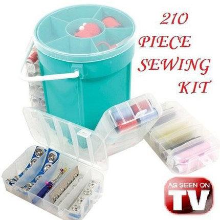 Набор для шитья Deluxe Sewing Kit из 200+ аксессуаров, фото 2