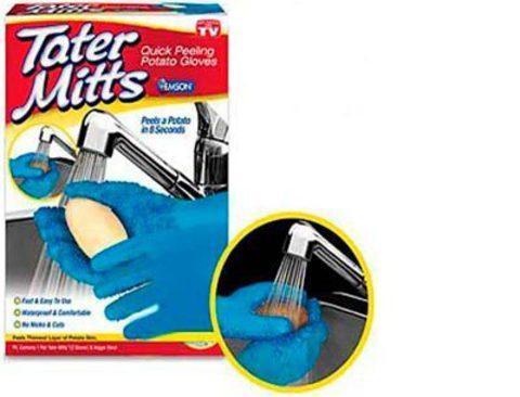 Перчатки для чистки овощей Tater Mitts, фото 2
