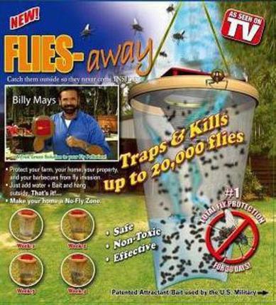 Ловушка-приманка Flies Away эффективное средство от мух и комаров, фото 2