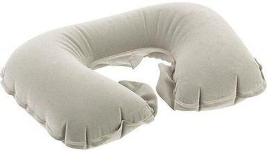 Дорожная надувная подушка с покрытием «под бархат»