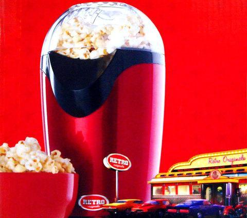 Аппарат для попкорна Retro 1950, фото 2