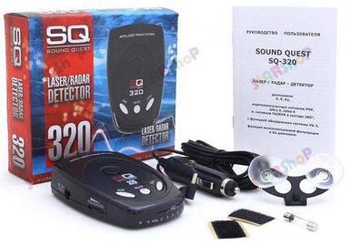 Антирадар / Радар-детектор Sound Quest 320