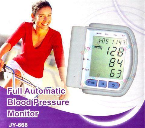 Цифровой тонометр - измеритель артериального давления JY-668, фото 2