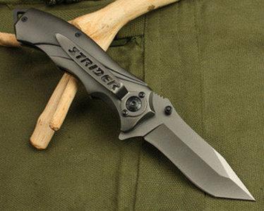 Складной нож механический STRIDER Knives 342