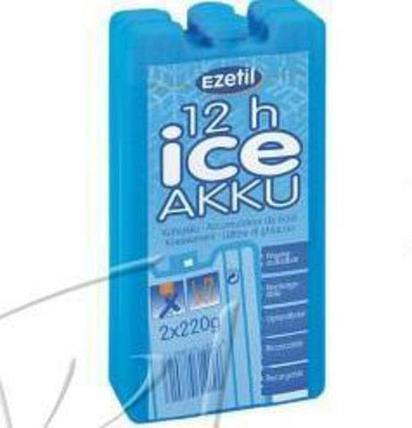 Аккумулятор холода Ezetil Ice Akku 2 шт (400 грамм), фото 2