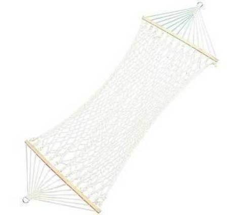 Гамак веревочный плетеный двухместный 150*200 см, фото 2