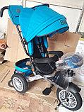 Детский трехколесный велосипед BMW 5 с поворотным сиденьем, фото 3