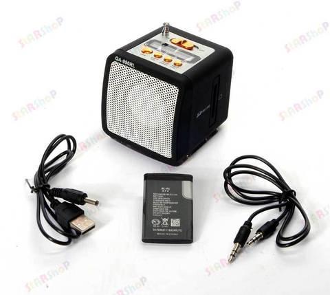 Цифровой портативный динамик Mini Speaker в форме кубика, фото 2