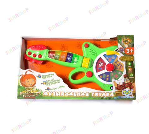 Обучающая детская музыкальная гитара