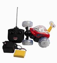 Машинка-акробат на радиоуправлении с музыкой и световыми эффектами Acrobatic Boy 5008, фото 3