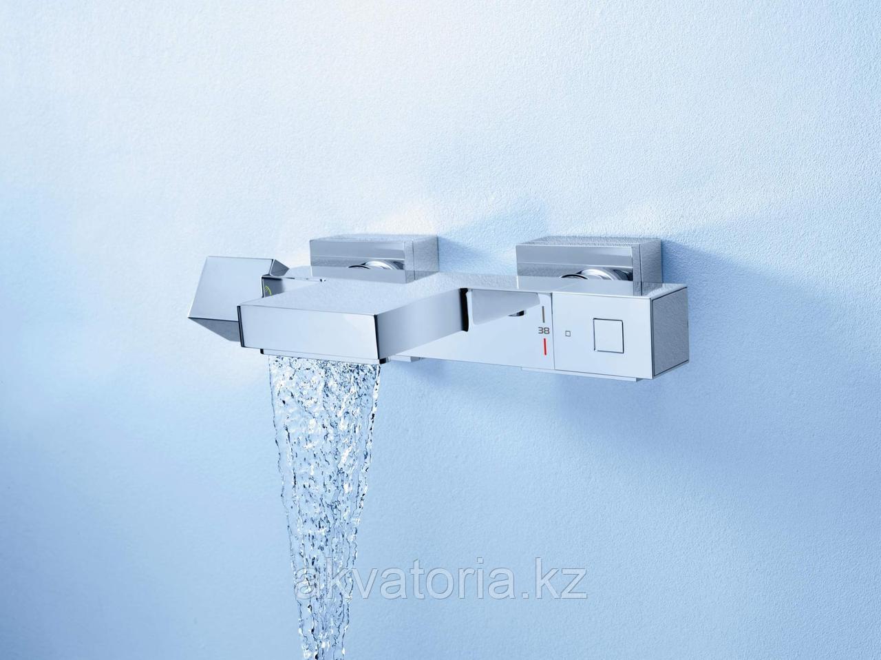 34497000 Смеситель для ванны GRT Cube THM