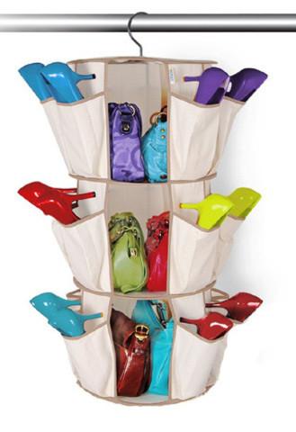 Универсальный органайзер для сумок и обуви