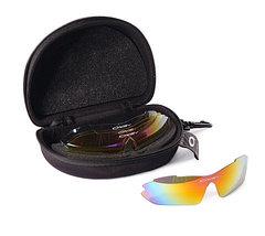 """Стильные очки """"Oakley"""" с комплектом из 5 сменных линз, фото 2"""