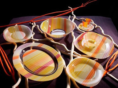 Сервиз столовый Luminarc Orange Stripes E9312/G8902
