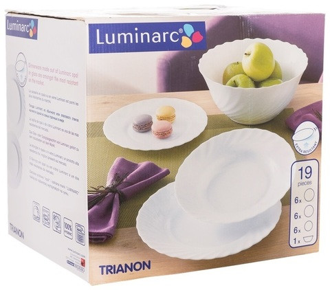 Сервиз столовый Luminarc Trianon [19 предметов]