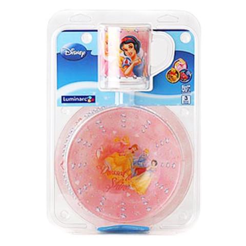 Набор детской посуды Luminarc Disney Princess Jewels E7365