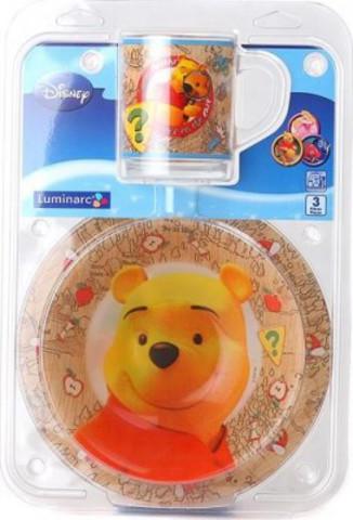 Набор детской посуды Luminarc Winnie Nature E7621