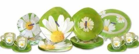 Сервиз столовый Luminarc Paquerette Green E9308/G8910 [38, 46 предметов] (46 предметов), фото 2