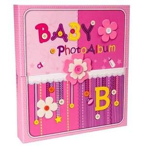 Фотоальбом детский «Baby» в футляре [240 фото]