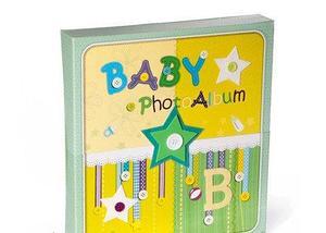 Фотоальбом детский «Baby» в футляре [240 фото], фото 3