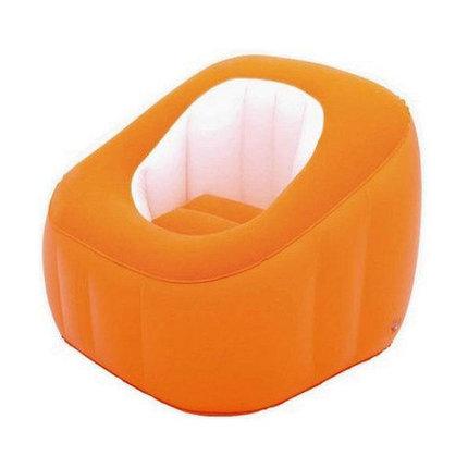 Кресло надувное Bestway «Комфорт» 75046 (Оранжевый), фото 2