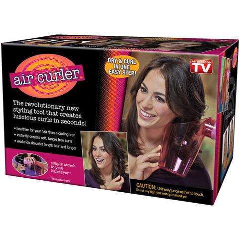 Насадка для фена для завивки кудрей AIR CURLER