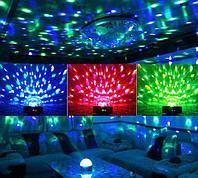 Сфера светодиодная для цветомузыки Crystal Magic Ball Light