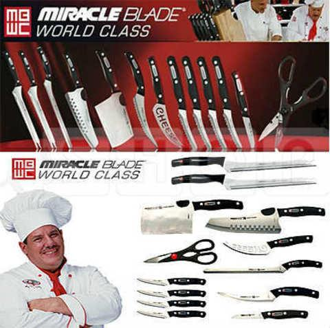 Набор из 13 ножей Miracle Blade World Class