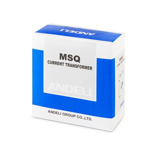 Трансформатор тока шинный Andeli MSQ-30 75/5, Класс точности 0,5, Первичный/вторичный 75/5 А, Цвет: Белый