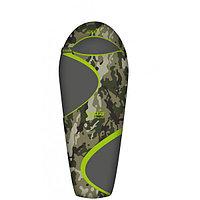Спальный мешок трекинговый Norfin Scandic Plus 350 Camo, Форм-фактор: Кокон, Мест: 1 , Молния справа, t°(комфо
