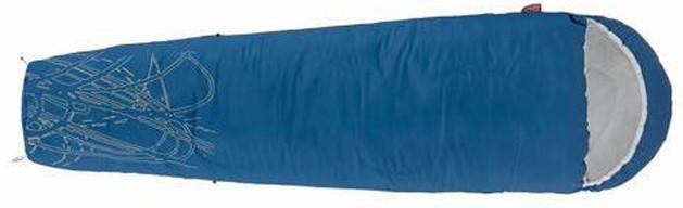 Спальный мешок трекинговый Coleman Track, Форм-фактор: Кокон, Мест: 1, t°(комфорта): +15°С-+10°С, t°(Экстрим):