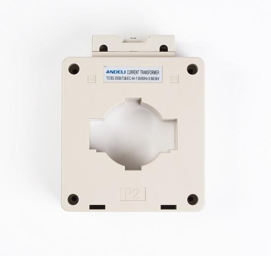 Трансформатор тока шинный Andeli MSQ-60 1000/5, Класс точности 0,5, Первичный/вторичный 1000/5 А, Цвет: Белый