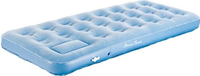 Матраc надувной High Peak Single, Форм-фактор: Прямоугольный, Мест: 1, Материал: Поливинилхлорид, Цвет: Голубо