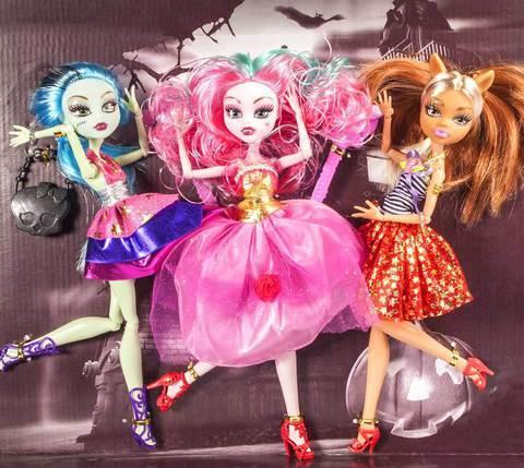 Набор кукол Monster Elves, 3 шт