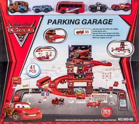 Конструктор «Тачки» Cars 2: Parking Garage