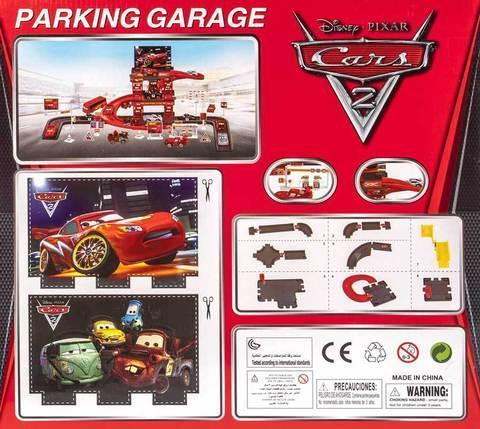 Конструктор «Тачки» Cars 2: Parking Garage, фото 2