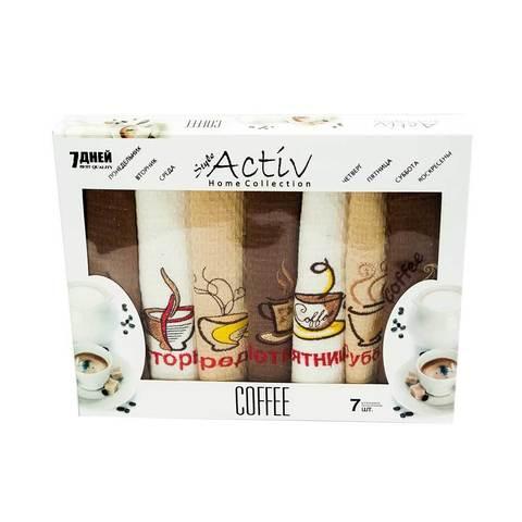 Набор кухонных полотенец Ceylin's Coffe {комплект из 6 шт.}