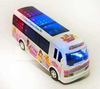 Игрушечный автобус с музыкой и световыми эффектами Princess Dream Bus