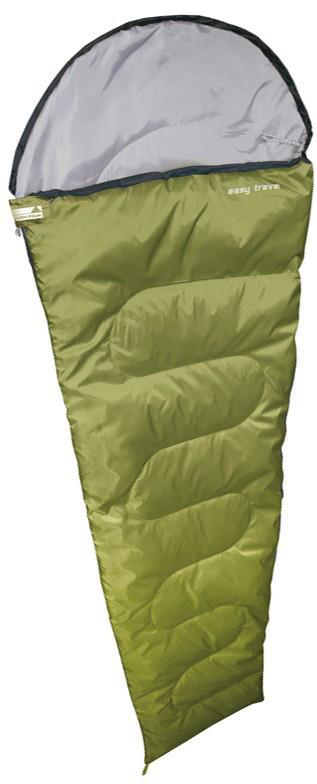 Спальный мешок кемпинговый High Peak Easy travel, Форм-фактор: Кокон, Мест: 1, t°(комфорта): +13°С-+9°С, t°(Эк