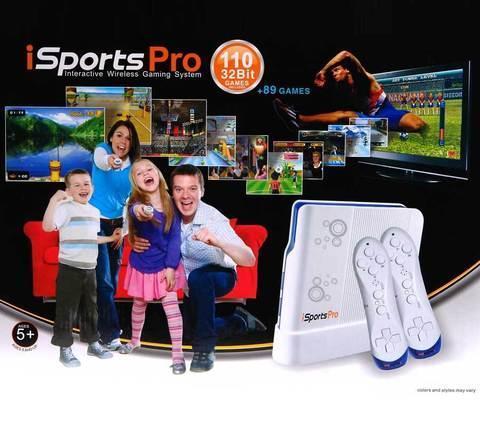 Игровая консоль iSports PRO [110 игр, беспроводные джойстики], фото 2