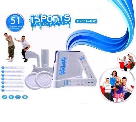 Игровая консоль iSports Interactive [51 игра, беспроводные пульты с датчиками движения], фото 2