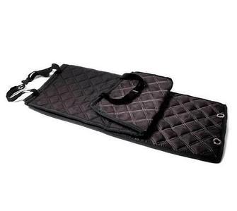 Чехлы-накидки для автомобильного сидения Алькантара (Черный)