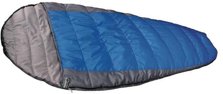 Спальный мешок трекинговый, кемпинговый High Peak ELLIPSE 250L, Форм-фактор: Кокон, Мест: 1, t°(комфорта): +6°