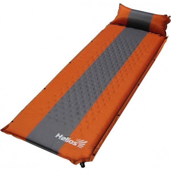 Туристический коврик, каремат самонадувающийся Tonar Helios, Форм-фактор: Прямоугольный с подушкой, Мест: 1, М