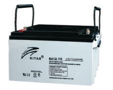 Батарея необслуживаемая (аккумулятор) Ritar RA12-70 (12V 70 Ah), Емкость аккумулятора: 70 Ah, Разъемы: F5/F11