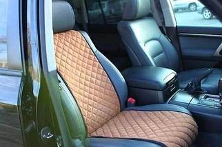 Чехлы-накидки для автомобильного сидения Алькантара (Серо-голубой), фото 3