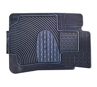 Набор универсальных ковриков в автомобиль (Черно-Белый)
