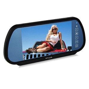 Зеркало заднего вида с монитором, MP4-плеером и громкой связью